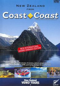 New Zealand Coast To Coast - (Import DVD)