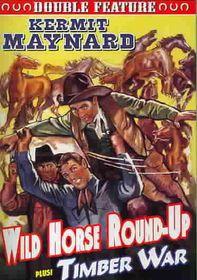 Wild Horse Round/Uptimber War - (Region 1 Import DVD)