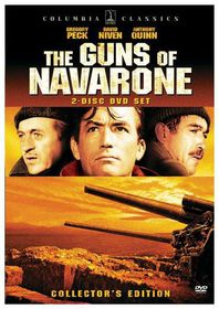 Guns of Navarone - (Region 1 Import DVD)