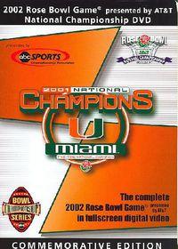 2002 Rose Bowl: Miami, FL Vs. Nebraska (Miami) - (Region 1 Import DVD)