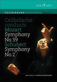 Mozart/schubert - Symphony No.39 / Symphony No.2 (DVD)