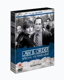 Law & Order-Special Victims Unit Series 4 - (Import DVD)