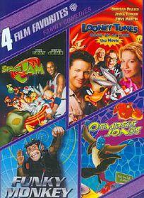 4 Film Favorites:Family Comedies - (Region 1 Import DVD)