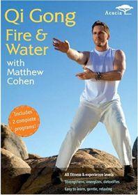 Qi Gong Fire & Water with Matthew Cohen - (Region 1 Import DVD)
