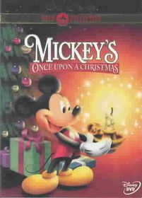 Mickey's Once Upon a Christmas - (Region 1 Import DVD)