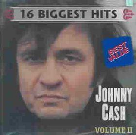 Johnny Cash - 16 Biggest Hits - Vol.2 (CD)