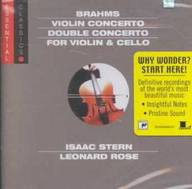 Isaac Stern / Leonard Rose - Violin Concerto / Double Concerto (CD)