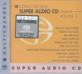 Concord Jazz Super Audio Sampler 2 - (Import CD)