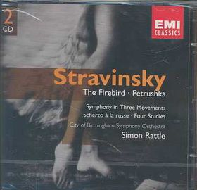 Stravinsky- Firebird Petrushka - Firebird / Petrushka (CD)