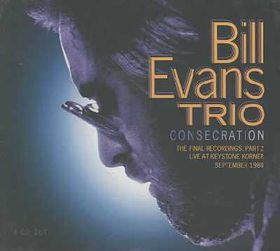 Bill Evans - Consecration (CD)