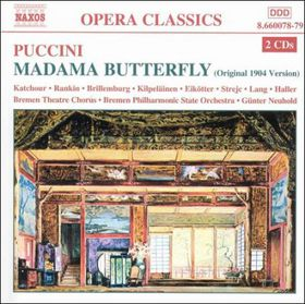 Puccini - Madama Butterfly;Gunter Neuhold (CD)