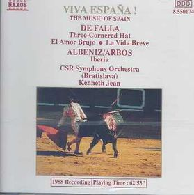 De Falla:Three Cornered Hat/El Amor - (Import CD)