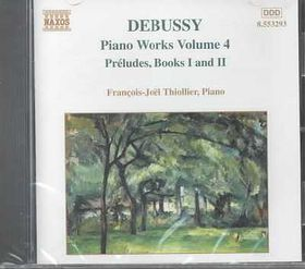 Francois Thiollier-Joel - Piano Works Vol.4 - Preludes Books I & II (CD)