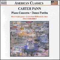 Pann Carter - Piano Conc/Dance Partita;Serebrie (CD)