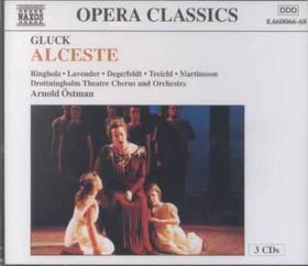 Ringholz / Lavender / Degerfeldt / Treichl / Drottningholm Theatre Orchestra - Alceste (CD)