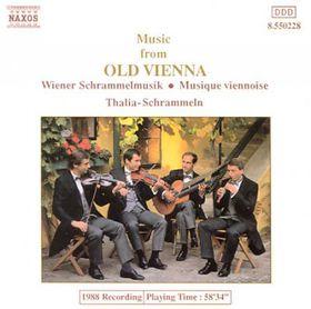 Thalia Schrammel Quartet - Music Of Old Vienna (CD)
