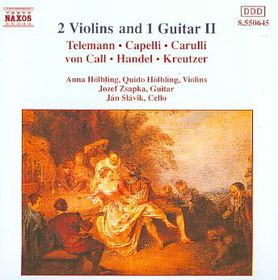 Two Violins & One Guitar - Various Artists (CD)