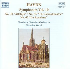Haydn:Symphonies Nos 30 55 & 63 - (Import CD)