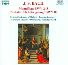 Schola Cantorum Oxford / Northern Chamber Orchestra / Various Artists - Magnificat / Cantata No. 82 (CD)
