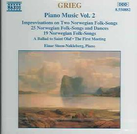 Einar Steen-Nokleberg - Piano Music Vol. 2 (CD)