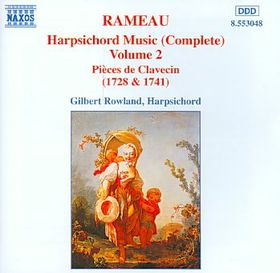 Gilbert Rowland - Harpsichord Music - Vol.2 (CD)