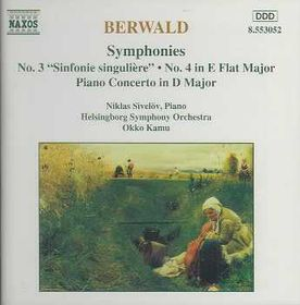 Sivelov / Helsingborg Symphony Orchestra - Symphonies Nos. 3 & 4 / Piano Concerto (CD)