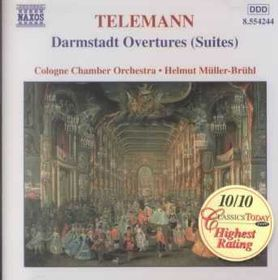Cologne Chamber Orchestra - Darmstadt Overtures (CD)