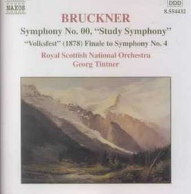 """Royal Scottish National Orchestra - Symphony No. 00 """"Study Symphony"""", Finale To Symphony No. 4 (CD)"""