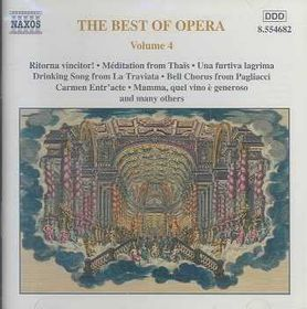 Best Of Opera - Vol.4 - Various Artists (CD)