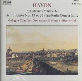 Symphonies Nos.13 & 36 - Vol.22 - Various Artists (CD)