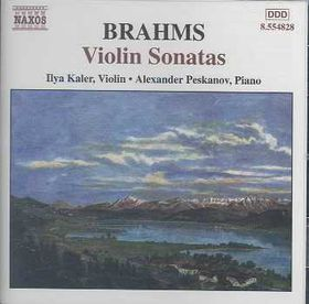 Brahms - Sonatas For Violin & Piano (CD)
