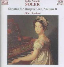 Soler - Sonatas For Harpischord Vol.8 (CD)