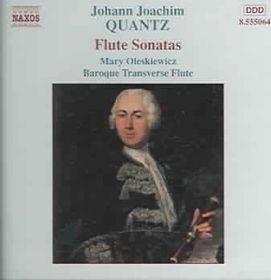 Quantz - Flute Sonatas;Mary Oleskiewicz (CD)