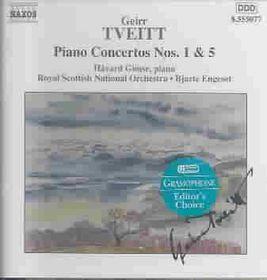 Tveitt - Piano Concertos Nos. 1 & 5 (CD)