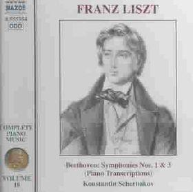Liszt - Piano Music Vol.18 Trans.Beet.Sym (CD)