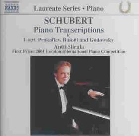 Schubert - Piano Transcriptions;Siirala (CD)