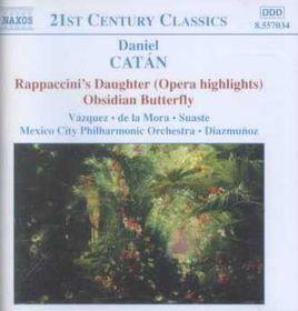 Catan - Rappaccini'S Daughter;Raizmunos (CD)