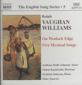 Williams Vaughan - English Songs;Johnson, Keenlyside (CD)