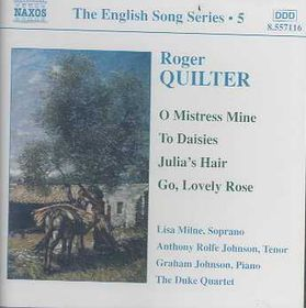 Quilter - English Songs;Johnson,Milne (CD)