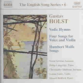 Holst:the English Song Series Vol. 6 - (Import CD)