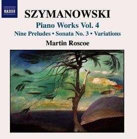 Szymanowski:Piano Works Vol 4 - (Import CD)