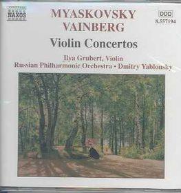 Myaskovsky/Vainberg - Violin Concertos;Yablonsky (CD)