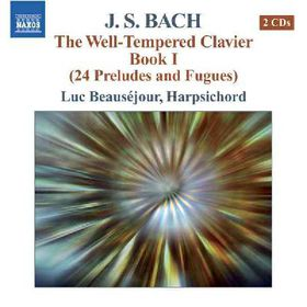 Beausejour, Luc - The Well Tempered Clavier - Book 1 (CD)