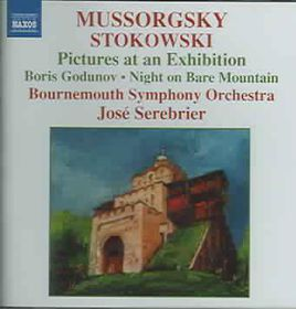 Bournemouth So/serebrier - Pictures At An Exhibition (CD)