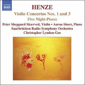 Sheppard Skaerved, Peter / Shorr, Aaron - Violin Concerto Nos.1 & 3 (CD)