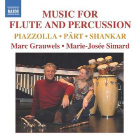 Grauwels/simard - Music For Flute & Percussion (CD)