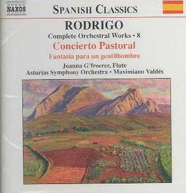 Rodrigo - Complete Orchestral Works 8;Valdes (CD)