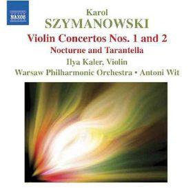 Szymanowski - Violin Concertos (CD)