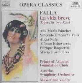 Falla - La Vida Breve;Sanchez/Valdes (CD)