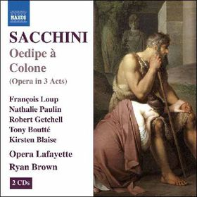 Sacchini Antonio (1730-1786) - Oedipe A Colone (CD)
